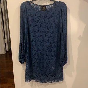 Landry Blue Lace Dress